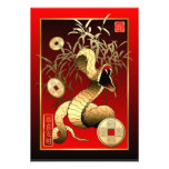 Chinese New Year-2013-year of the Snake Custom Invites