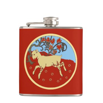 Chinese New Year 2015 Year of the Ram, Sheep, Goat Flasks at Zazzle