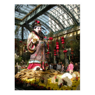 Chinese New Year at Bellagio Gardens Postcards