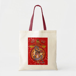 Chinese New Year Bag With Tiger And Dragon