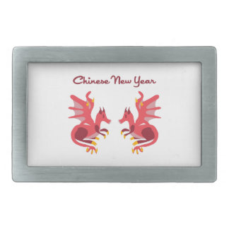 Chinese New Year Belt Buckle