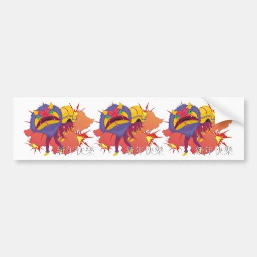 Chinese New Year Bumper Sticker