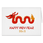 Chinese New Year Card - Year of the Dragon (2012)
