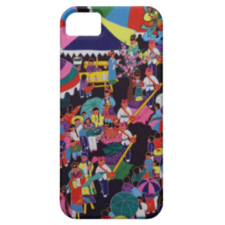 Chinese New Year,Chinese village celebration iPhone 5 Cases