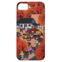 Chinese New year,Chinese village iPhone SE/5/5s Case