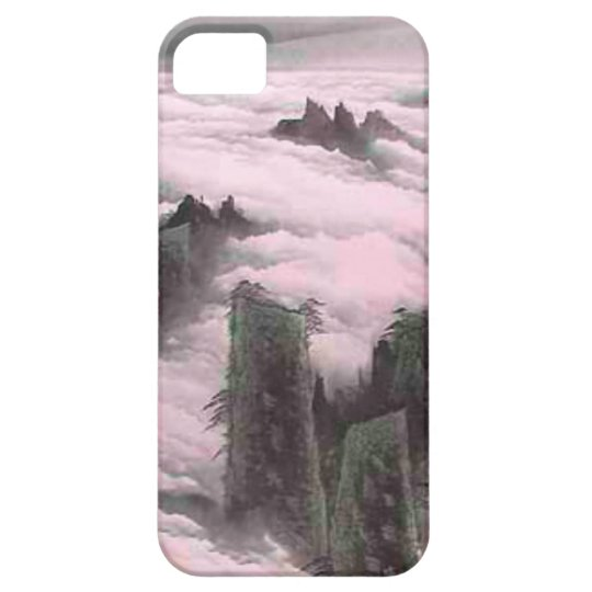 Chinese New Year, Clouds and mountains iPhone SE/5/5s Case
