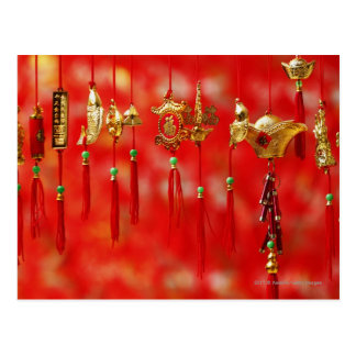 Chinese New Year decoration Postcard