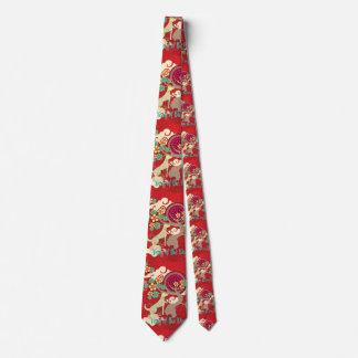 chinese new year dog tie