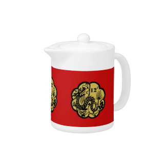 Chinese New Year Dragon 2012 Teapot