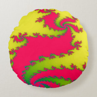 Chinese New Year Dragon Fractal Pillow