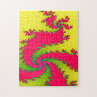Chinese New Year Dragon Fractal Puzzle