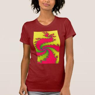 Chinese New Year Dragon Fractal T Shirt