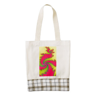Chinese New Year Dragon Fractal Tote Bag