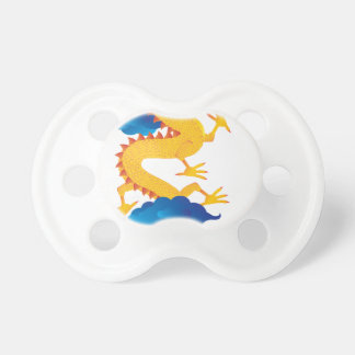 Chinese New Year Dragon Illustration Pacifier