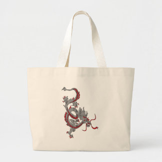 Chinese New Year Dragon Large Tote Bag