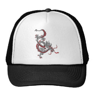 Chinese New Year Dragon Mesh Hats
