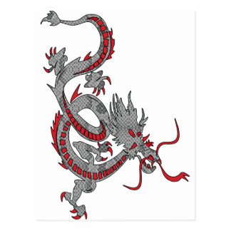 Chinese New Year Dragon Postcard