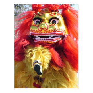 Chinese New Year Dragon Postcard