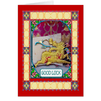 Chinese New Year, Golden dragon Card