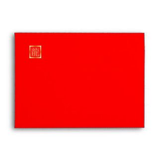 Chinese New Year Greeting Card Envelopes