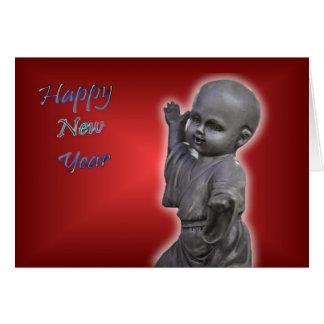 Chinese New Year Happy New Year 2011 HNY Buddha Card