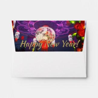CHINESE NEW YEAR LANTERN ENVELOPE