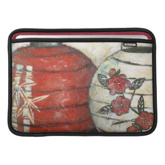 Chinese New Year Lanterns with Floral Print MacBook Air Sleeve