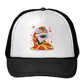 Chinese New Year Lion Trucker Hat