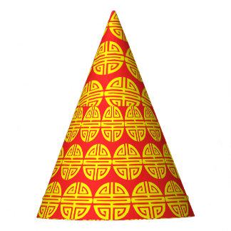 Chinese New Year longevity red hat