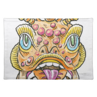 Chinese New Year Mask Cloth Place Mat