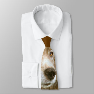 Chinese New Year of the Dog Golden Eyes Neck Tie