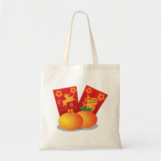 Chinese New Year of the Horse Mandarin Oranges Bag