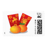 Chinese New Year of the Horse Mandarin Oranges Postage