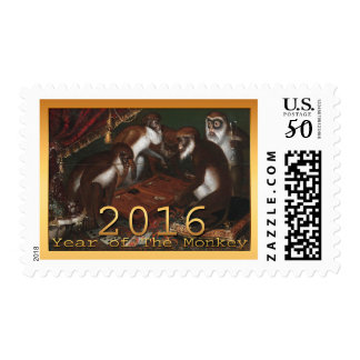Chinese New Year of The Monkey 2016 Painting S Postage
