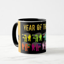 Chinese New Year of the Pig Pop Gold Combo Mug