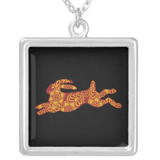 Chinese New Year of the rabbit necklace