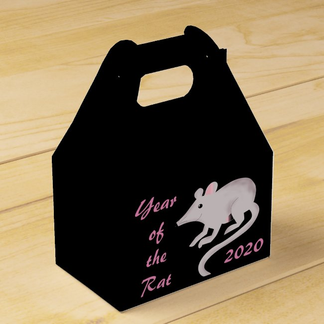 Chinese New Year of the Rat 2020 Favor Box