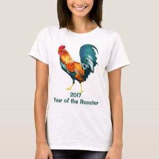 Chinese New Year of the Rooster 2017 T-Shirt