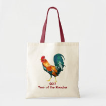 Chinese New Year of the Rooster 2017 Tote Bag