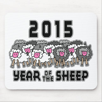 Chinese New Year of The Sheep 2015 Mouse Pad