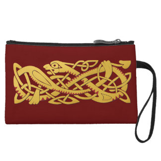 Chinese New Year Of The Snake 2013 Mini Clutch Wristlet