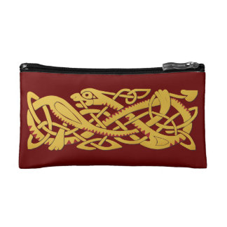 Chinese New Year Of The Snake 2013 Small Cosmetic Cosmetic Bags