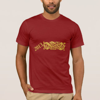 Chinese New Year Of The Snake 2013 T Shirt