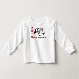 Chinese New Year of The Snake 2013 Toddler T-shirt