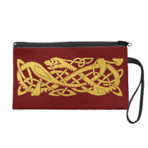 Chinese New Year Of The Snake 2013 Wristlet at Zazzle