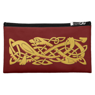 Chinese New Year Of The Snake Medium Cosmetic Bag