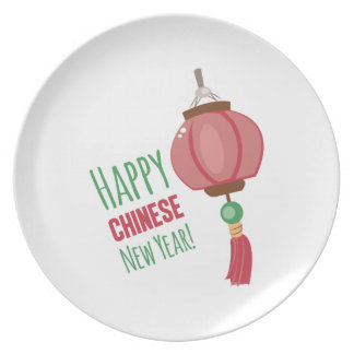 Chinese New Year Dinner Plate