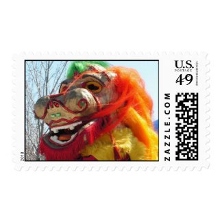 Chinese New Year Postcard Postage