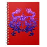 CHINESE NEW YEAR Purple Dragons Notebooks