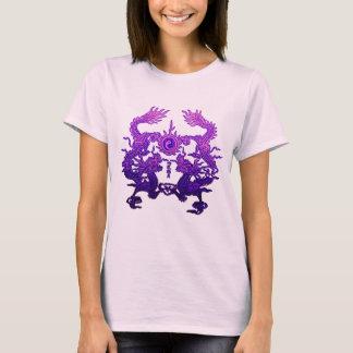 CHINESE NEW YEAR Purple Dragons T-Shirt